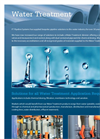Water Treatment - Brochure