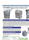 Marine And Offshore Compactors/Balers - DT 500 GC / Glass Crusher Brochure