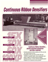 EPS Continuous Ribbon Densifiers - Model 30X Brochure