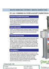 Paint, Can, Pail And Filter Crushers - DT-120s Brochure