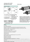 Model ISO 15552 - Double Acting Cylinders- Brochure