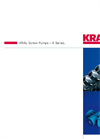 KRAL Series K Screw Pumps Brochure
