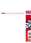 KRAL BEM 300 and BEM 500 Electronics Brochure