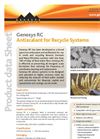 Genesys - RC - Antiscalant for Recycle Systems Datasheet