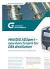 MINIDIS ADXpert Automatic Mini-Distillation Brochure