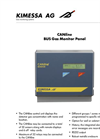 Gas monitor CANline BUS Datasheet