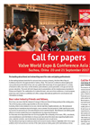 Valve World Expo & Conference Asia 2017 Brochure