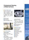 Professional Cleaning of Metal Surfaces - Brochure