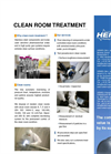 Clean Room Treatment Services - Brochure
