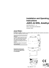JUDO JU-WEL Amethyst - Single & Multi Unit Housing Operating Instructions- Brochure