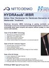 HYDRAsub - Model MBR - Hollow Fiber Membranes for Membrane Bioreactor Brochure