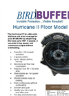 BirdBuffer - Hurricane II Floor Model Fan Brochure