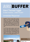 BirdBuffer TF (Thermal Fogger) - brochure