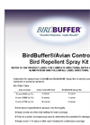 BirdBuffer Bird Control Spray Kit for manual pump sprayers