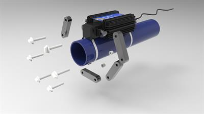 HydroFLOW - Model I Range - Industrial Limescale Remover Pipe Fitting System