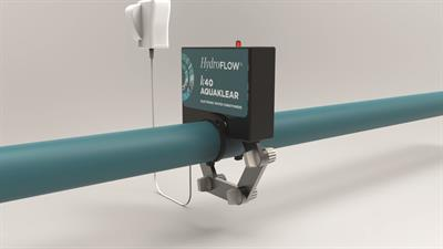 HydroFlow AquaKlear - Model K40 - Limescale Remover Pipe Fitting System