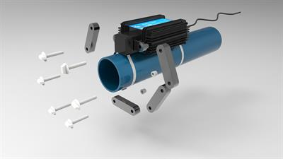 HydroFLOW - Model C Range - Commercial Limescale Remover Pipe Fitting System