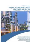 Water Treatment for the Hydrocarbon & Chemical Processing Industry - Brochure