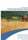 Water Treatment for the Food & Beverage Industry - Brochure