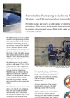 Verderflex - Peristaltic Pumping Solutions for the Water and Wastewater Industries Brochure
