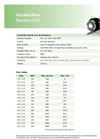 Verderflex - Model Rapide R2S - Peristaltic Industrial Hose and Tube Pumps Datasheet