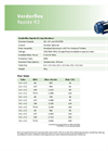 Verderflex - Model Rapide R3 - Peristaltic Industrial Hose and Tube Pumps Datasheet
