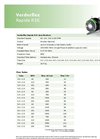Verderflex - Model Rapide R3S - Peristaltic Industrial Hose and Tube Pumps - Datasheet