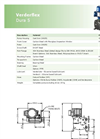 Verderflex - Model Dura 5 - Peristaltic Industrial Hose and Tube Pumps - Metric Datasheet