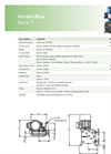 Verderflex - Model Dura 7 - Peristaltic Industrial Hose and Tube Pumps - Metric Datasheet