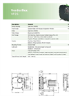 Verderflex - Model VF25 - Peristaltic Hose Pumps - Metric Datasheet