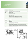Verderflex - Model Dura 15 - Peristaltic Industrial Hose and Tube Pumps Datasheet