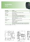 Verderflex - Model VF32 - Peristaltic Hose Pumps  - Metric Datasheet