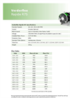 Verderflex - Model Rapide R7S - Peristaltic Industrial Hose and Tube Pumps Datasheet