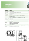 Verderflex - Model Dura 25 - Peristaltic Industrial Hose and Tube Pumps - Metric Datasheet