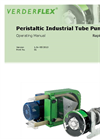 Verderflex - Rapide Peristaltic Industrial Tube Pump Operating Manual