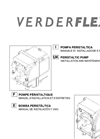 Verderflex - Model VP2-B - Basic Peristaltic Flow Tube Pump Manual