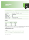 Verderflex EV3000 Economy Cased Tube Pumps - Technical Datasheet