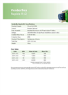 Verderflex - Model Rapide R12 - Peristaltic Industrial Hose and Tube Pumps - Metric Datasheet
