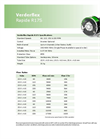 Verderflex - Model Rapide R17S - Peristaltic Industrial Hose and Tube Pumps - Metric Datasheet