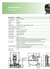 Verderflex Dura 45 Industrial Peristaltic Hose Pump and Tube Pump - Metric Datasheet