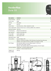Verderflex Dura 55 Industrial Hose Pump for Medium Flow Applications - Metric Datasheet