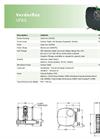 Verderflex VF65 Peristaltic Hose Pumps - Metric Datasheet