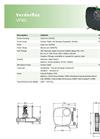 Verderflex VF80 Peristaltic Hose Pumps - Metric Datasheet