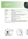 Verderflex VF100 Peristaltic Hose Pumps - Metric Datasheet