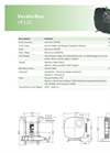Verderflex VF125 Peristaltic Hose Pumps - Metric Datasheet