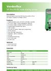 VP Pro PH-RX Tube Dosing Pump - Datasheet