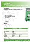 VP PRO CL Peristaltic Chlorine Dosing Pump - Datasheet