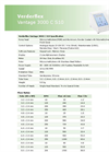 Vantage 3000 C S10 Cased Tube Pumps - Metric Datasheet