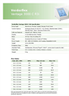 Vantage 3000 C R3i Cased Tube Pumps - Metric Datasheet