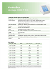 Vantage 3000 P R3i Cased Tube Pumps - Metric Datasheet